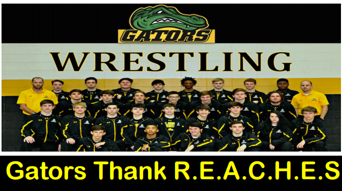 Gators Wrestling Thanks REACHES